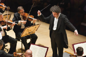 Gustavo Dudamel with the Los Angeles Philharmonic